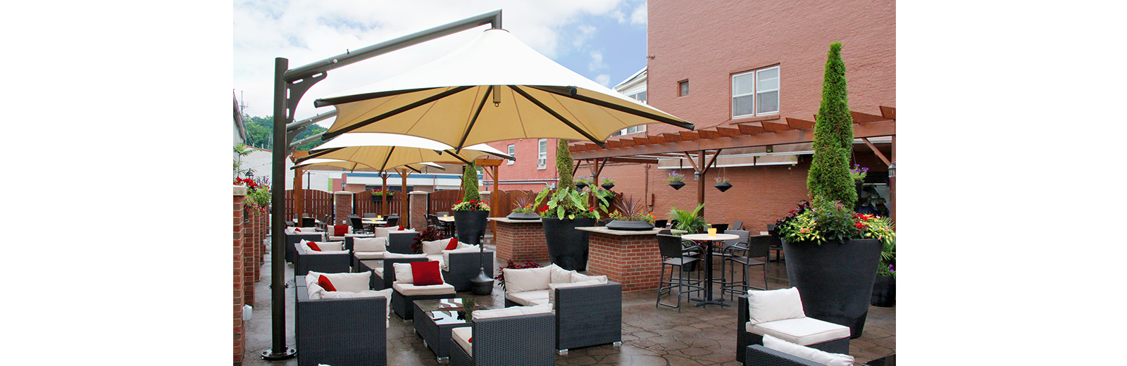 Patio Shade for Restaurants