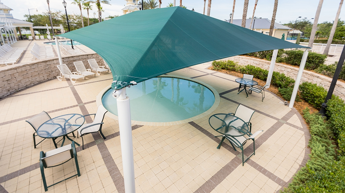 kiddie pool shade canopy