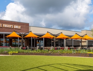 restaurant patio shade