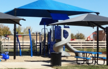 Playground Shade at McClelland's Creek Park