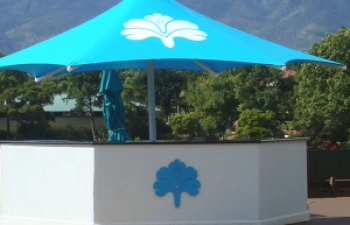 Custom Shade Umbrella Waikele Golf Club