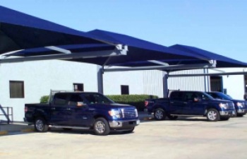 Car Park Shade at Empire Roofing