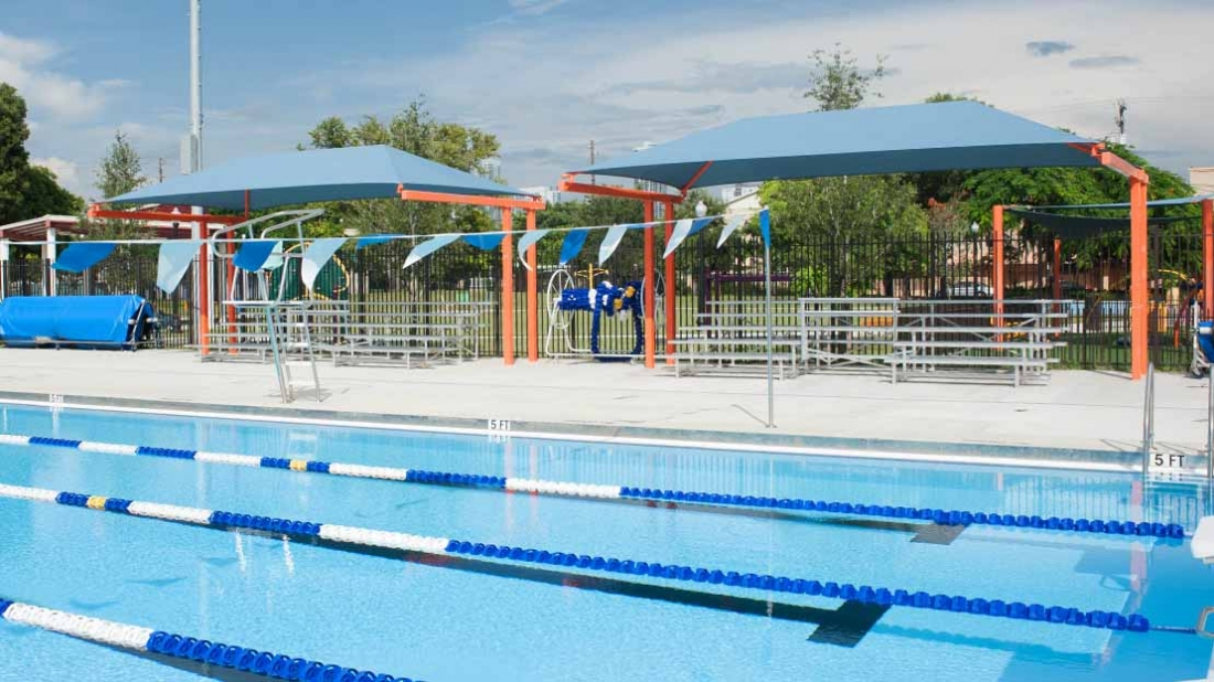 gibson park pool shade