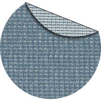 Capri commercial two color shade fabric