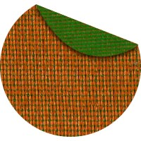 citrus commercial two color shade fabric
