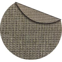 CobbleStone commercial two color shade fabric