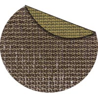 Gold Rush commercial two color shade fabric