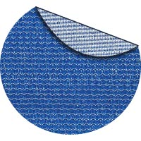 Santorini commercial two color shade fabric