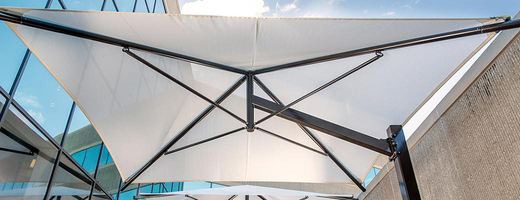 commercial-grade outdoor umbrella