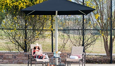 commercial-grade portable shade umbrella